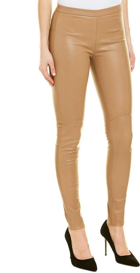 385de84f95be4a Stretch Leather Leggings - ShopStyle