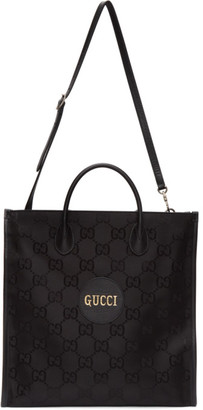 Gucci Black Off The Grid Long GG Tote
