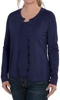 August Silk Cardigan Sweater - Silk Blend (For Women)