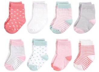 Touched by Nature Organic Socks, 8pk (Baby Girls)