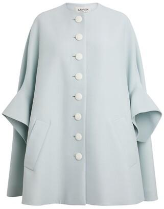Lanvin Caped Coat