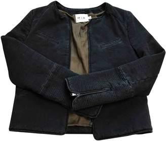 MiH Jeans \N Black Denim - Jeans Jackets