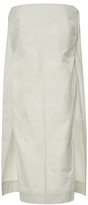Rick Owens Strapless Bustier Tunic