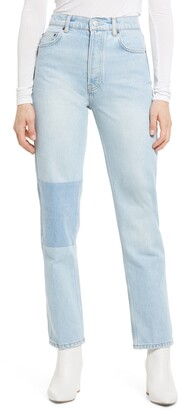 Reformation Cynthia Patch Jeans