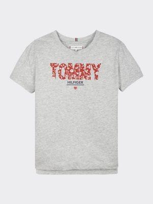 Tommy Hilfiger Floral Logo T-Shirt