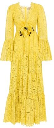 Elie Saab Broderie anglaise gown