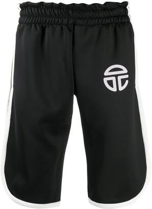 Telfar Logo Print Shorts