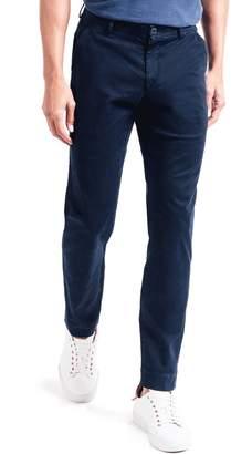 Good Man Brand Soho Slim Fit Flat Front Stretch Cotton Dress Pants