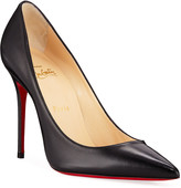 Christian Louboutin Kate Red Sole Pumps, Black