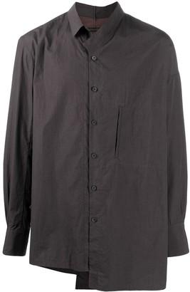 Ziggy Chen Asymmetric Cotton Shirt