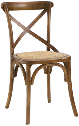 Modway Gear Dining Wood Side Chair
