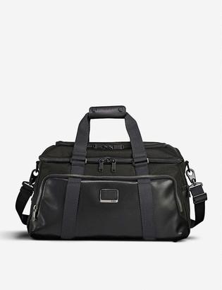 Tumi Alpha Bravo Mccoy nylon and leather gym bag