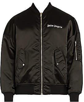 Palm Angels Men's Logo Bomber Jacket