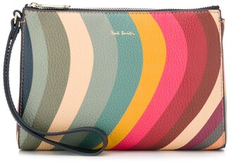 Paul Smith Striped Clutch Bag