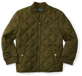 Ralph Lauren Boys 2-7 Diamond-Quilted Baseball Jacket
