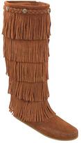 Minnetonka Women's 5 Layer Fringe Boot