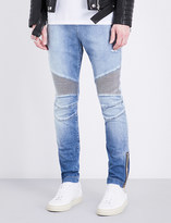 Balmain Skinny-fit stretch-cotton jeans