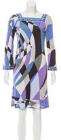 Emilio Pucci Shift Abstract Dress