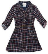Rare Editions Girl's Plaid Shirt Dress