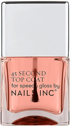 Nails Inc NAILS.INC 45 Second Top Coat with Retinol