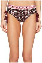 Kate Spade Coronado Beach #61 Adjustable Hipster Bikini Bottom Women's Swimwear