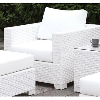 Rosecliff Heights Kuhn 5 Piece Deep Seating Group with Cushions