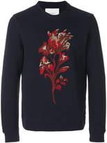 Paolo Pecora Felpa embroidered sweatshirt