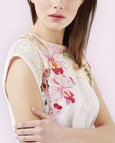 CATLEE Encyclopaedia Floral Tshirt