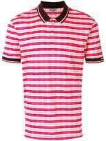 Lanvin classic stripe polo shirt