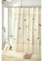 Avanti Gilded Birds Shower Curtains - Ivory