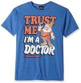 Disney Men's Seven Dwarfs Trust Me I'm a Doc Graphic T-Shirt