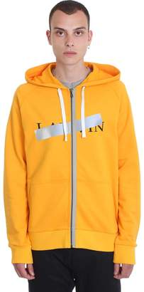 Lanvin Sweatshirt In Orange Cotton