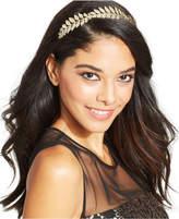 Josette Metal Leaves Headband