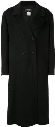 Chanel Pre-Owned double-breasted overcoat