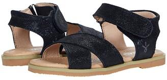 Emu Rose (Toddler/Little Kid/Big Kid) (Black) Girl's Shoes