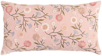 One Kings Lane Piper 26x14 Lumbar Pillow - Pink - pink/multi