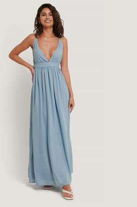 NA-KD Flowy Strap Dress