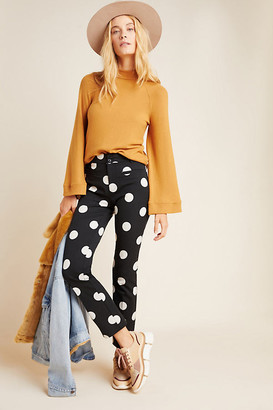 Anthropologie The Essential Skinny Kick Flare Pants By Essentials by in Assorted Size 0