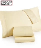 Charter Club CLOSEOUT! Damask California King 4-pc Sheet Set, 500 Thread Count 100% Pima Cotton