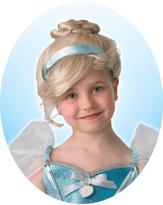 Disney Princess Childs Cinderella Wig with FREE Book