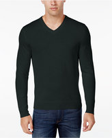 Club Room Men's Merino Blend V-Neck Sweater, Classic Fit, Only at Macy's