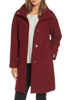 Eliza J Women's Wool Blend Coat