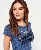 Superdry Sequin Team Comet T-shirt