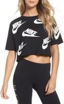 Nike Women's Sportswear Futura Crop Tee
