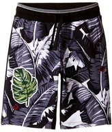 Dolce & Gabbana Banana Leaf Shorts (Big Kids)