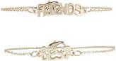 Accessorize 2x BFF Charmy Bracelets