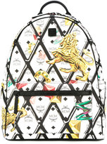 MCM printed backpack - unisex - Leather - One Size
