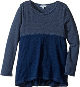Splendid Littles Indigo Mixed Print Long Sleeve Top (Toddler)