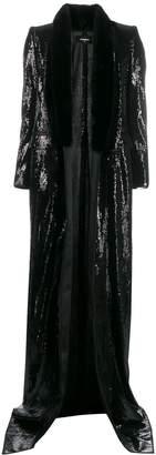 DSQUARED2 sequin long coat