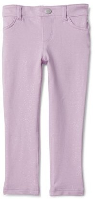 The Children'S Place The Childrens Place Baby Girls & Toddler Girls Glitter Print Jegging Pants (12M-5T)